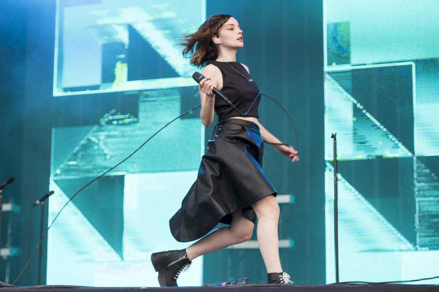 Watch Chvrches cover Calvin Harris and Rihanna in the Live Lounge