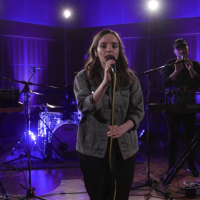 Watch Chvrches cover Kendrick Lamar for triple J