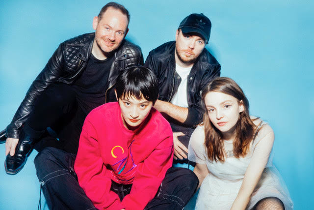 Chvrches unveil new track 'Out Of My Head', feat. Japanese trio Wednesday Campanella