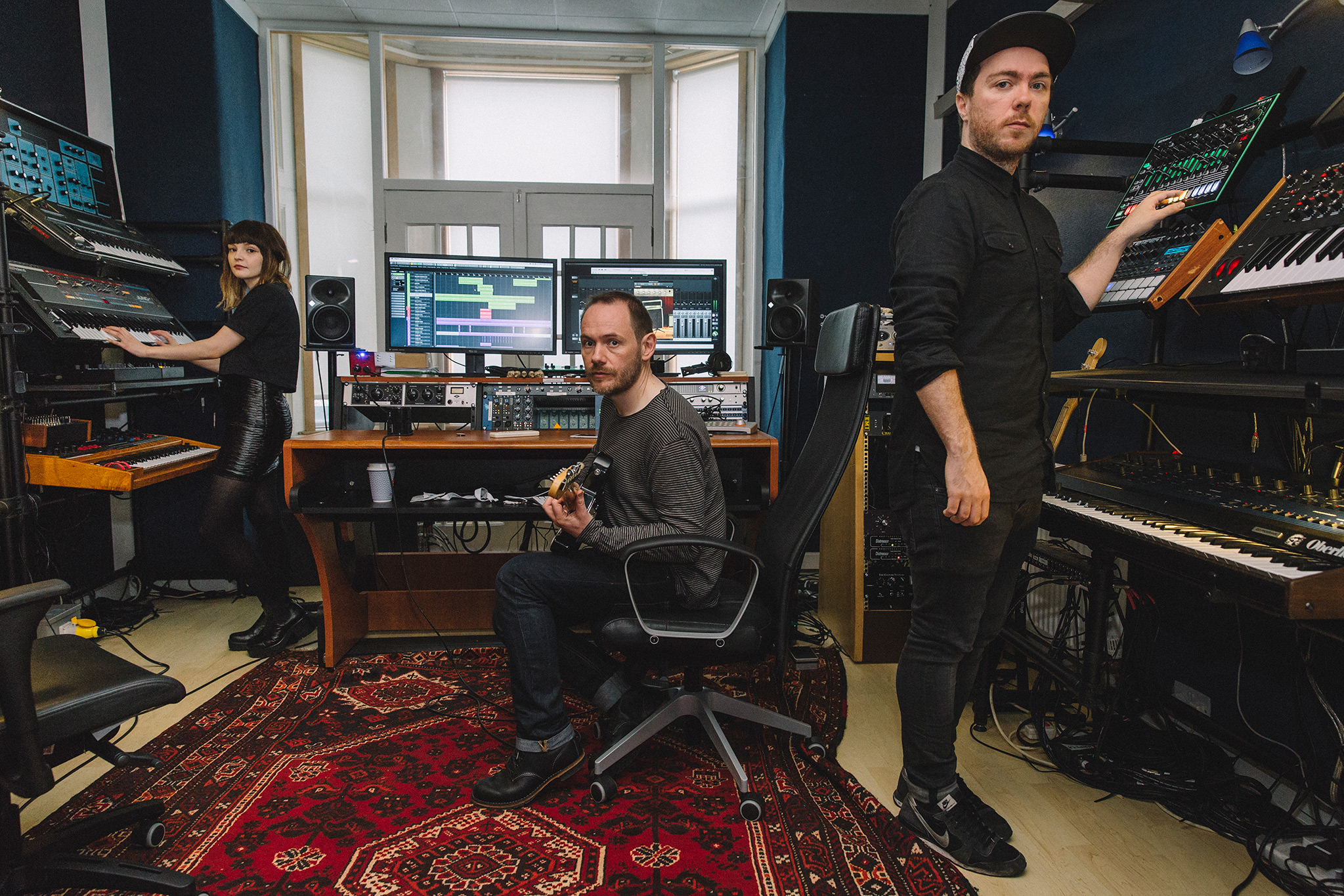 """Chvrches talk new album: """"I was being ridiculous, second-guessing myself all the time"""""""