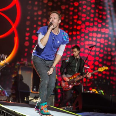 Coldplay get on their bikes for 'A Head Full of Dreams' video