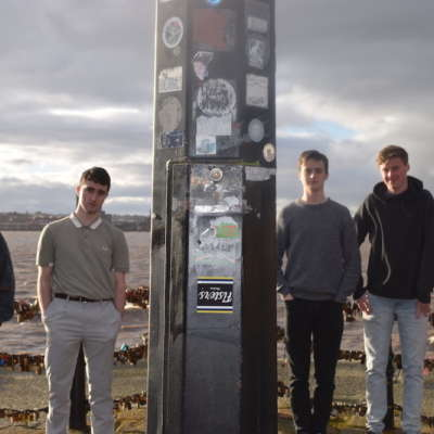 Courting share new track 'David Byrne's Badside'