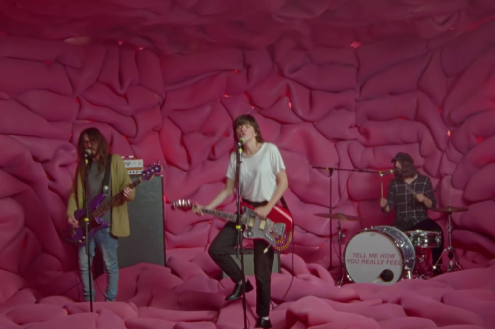 Courtney Barnett reveals video for 'Everybody Here Hates You'
