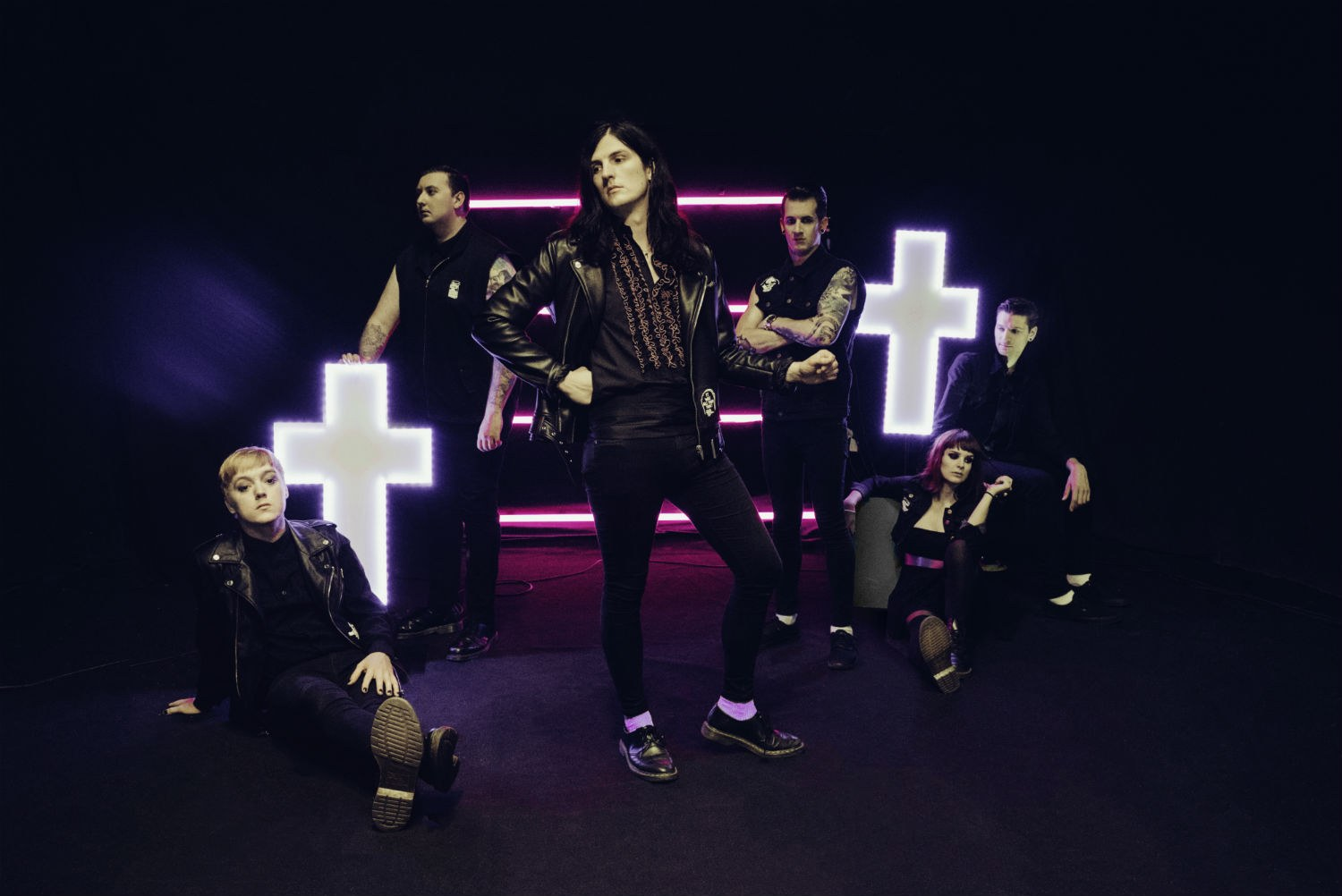 Creeper goth up Valentine's Day with 'Black Rain'