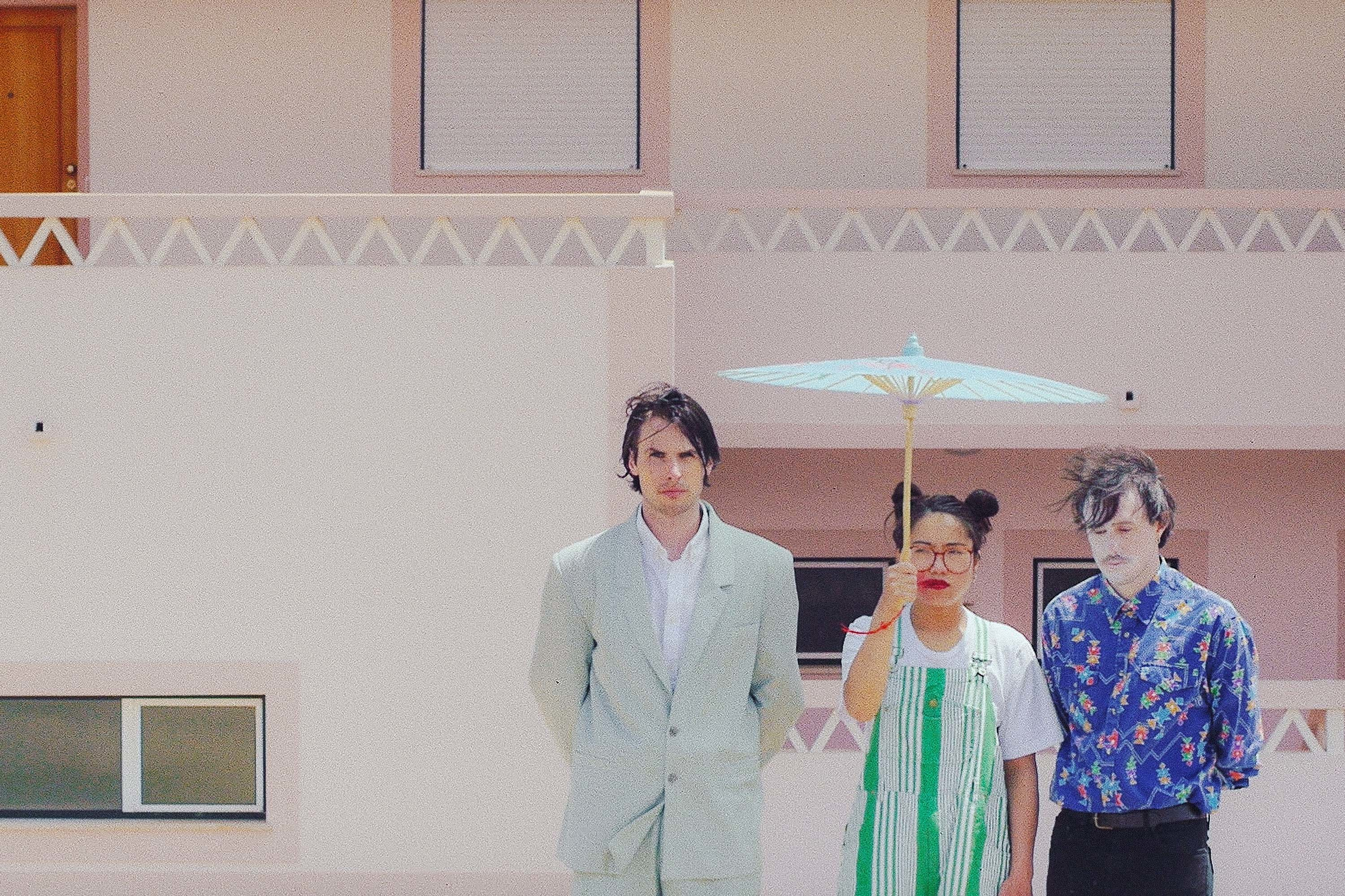 Dama Scout get on their bike on 'Paper Boy'