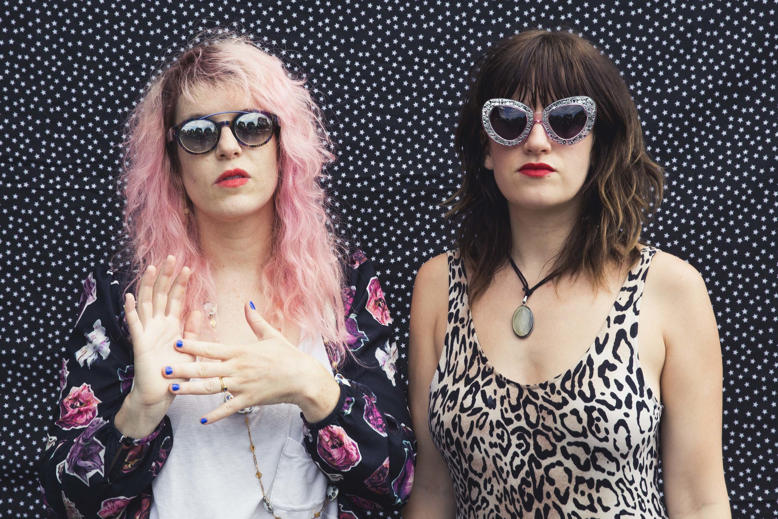Deap Vally share 'Two Seat Bike' video