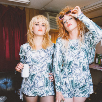 """""""It's gonna be a rowdy show"""" - Deap Vally prep for their Fluffer Pit Party"""