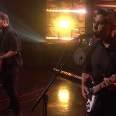 Watch Death Cab For Cutie perform 'Gold Rush' on US TV