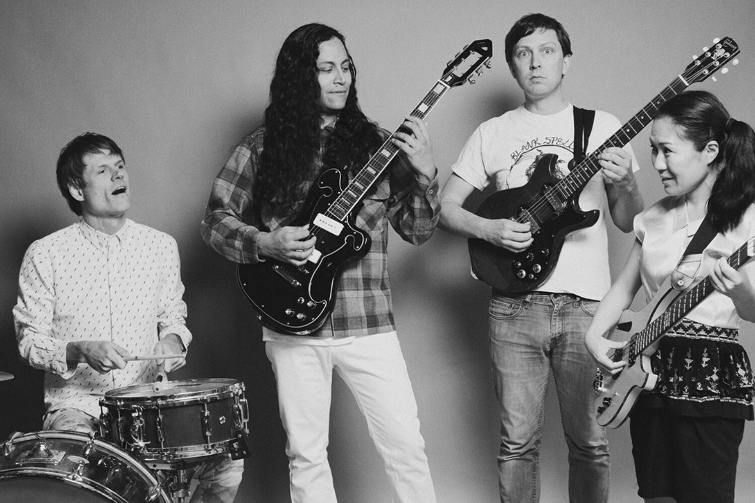 Deerhoof are sharing new music from their side projects for charity
