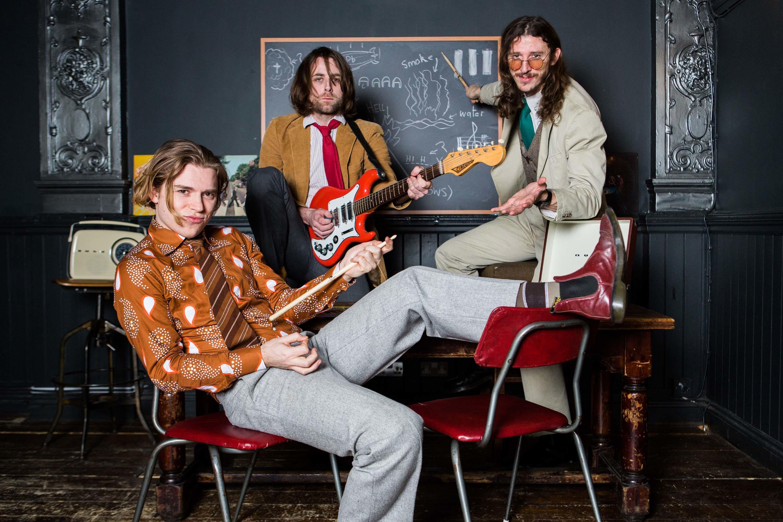 Welcome to rock school, with Demob Happy!