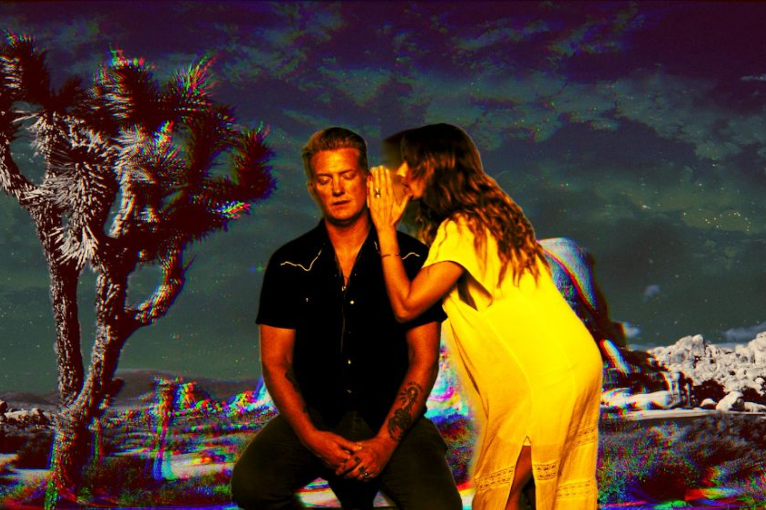 Josh Homme heads out into the desert in trippy Desert Sessions 'If You Run' video
