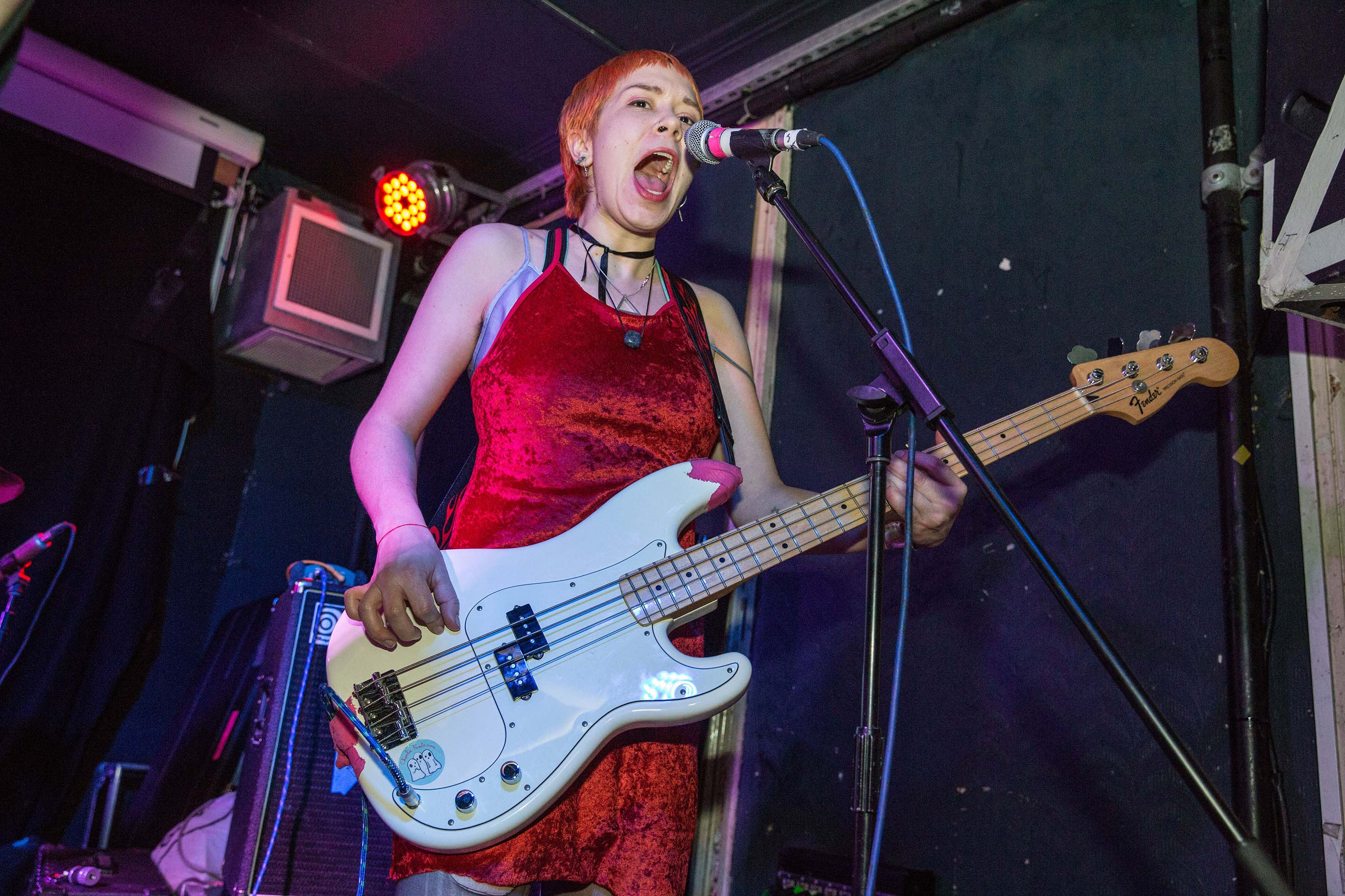 Dream Wife incite chaos as they kick off the Hello 2017 tour in London