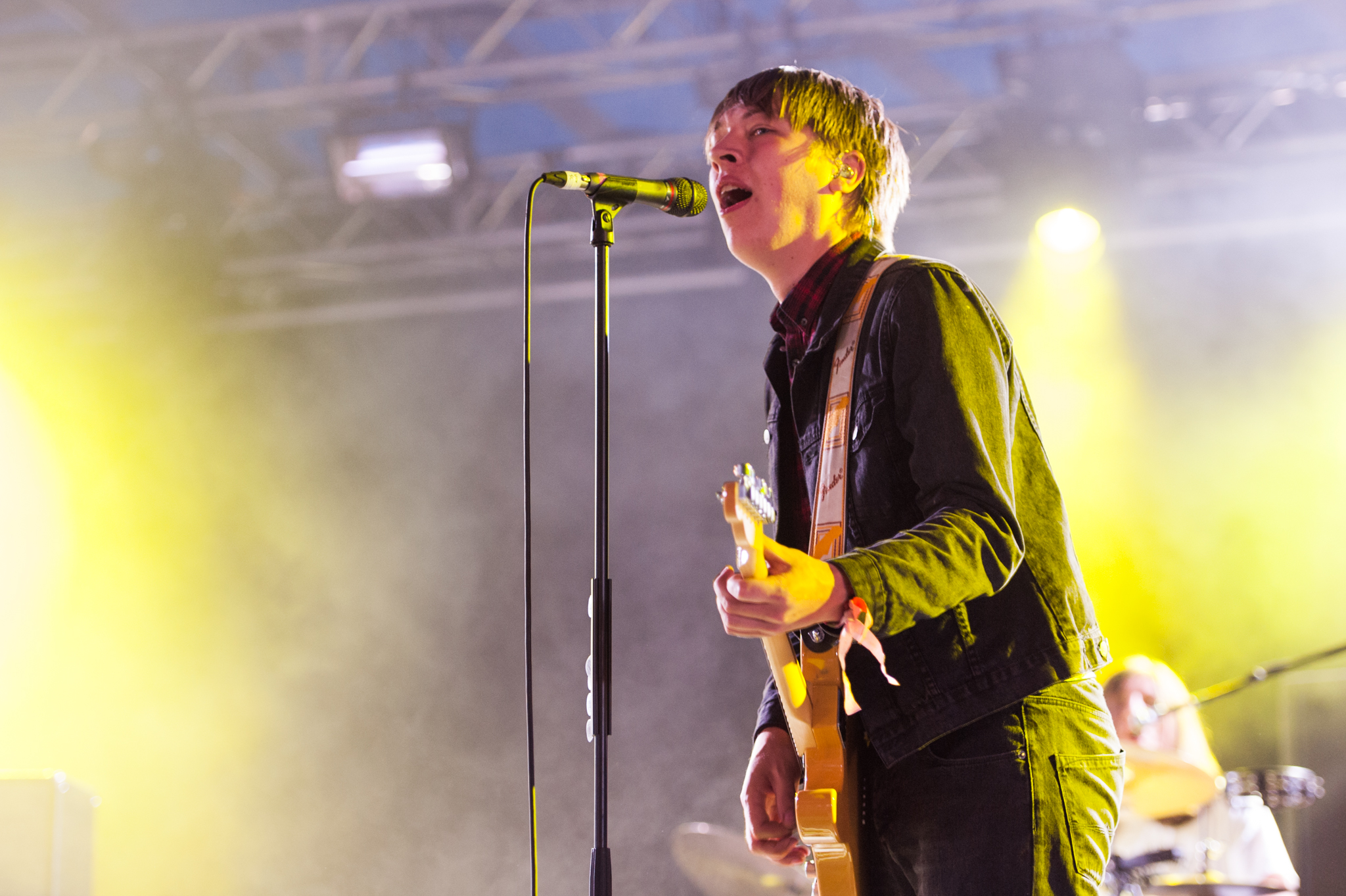 Drenge turn the volume up at Latitude 2015