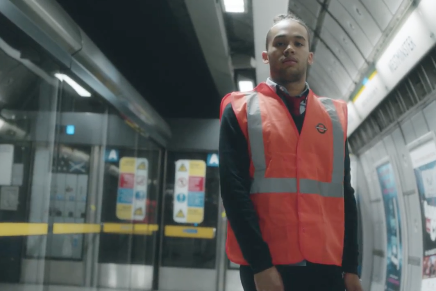 Drones Club take the tube in video for 'International'