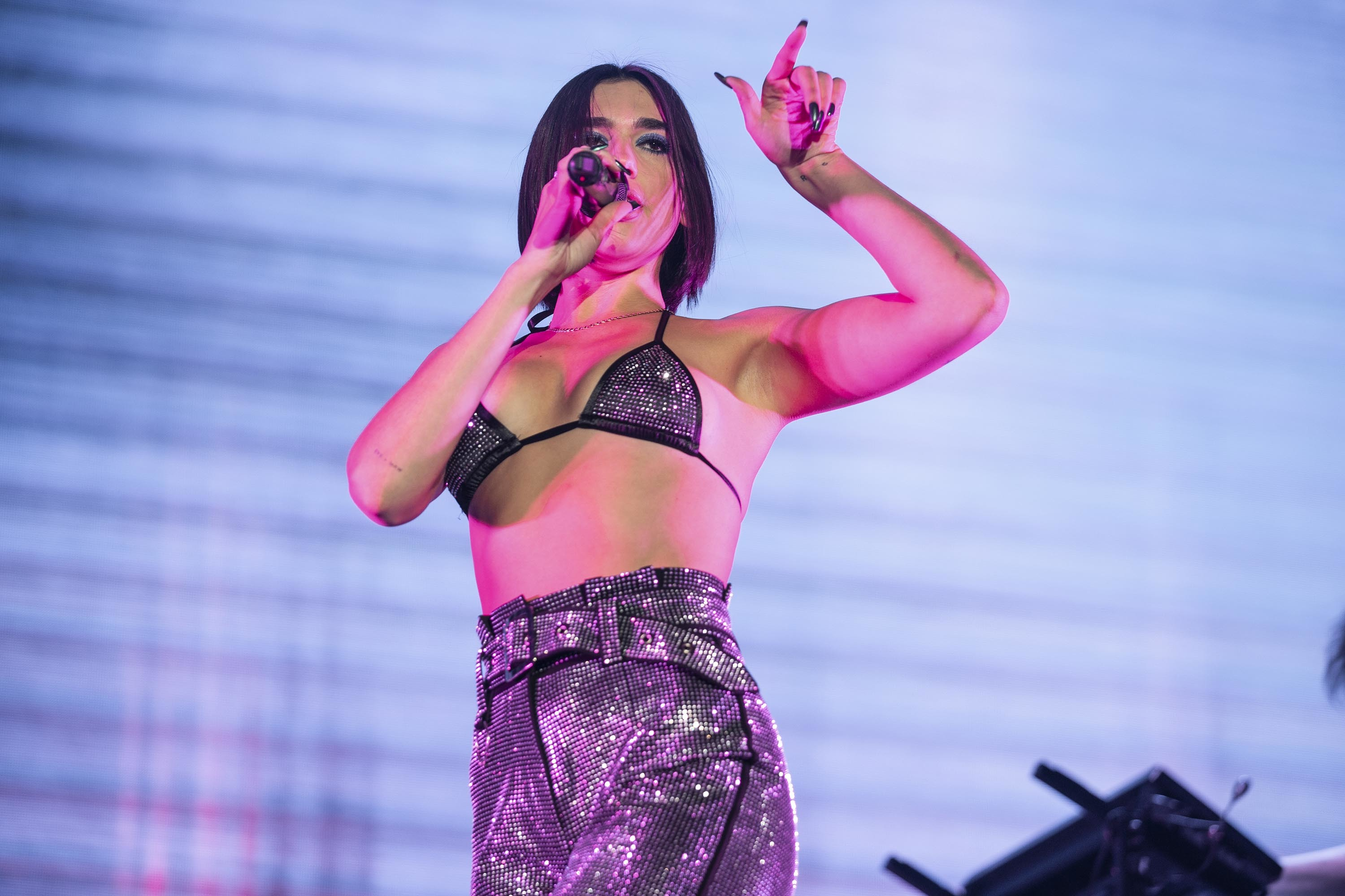 Dua Lipa returns with empowerment bop 'Don't Start Now'