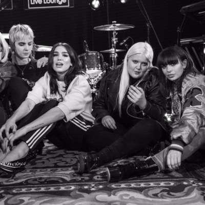 Watch Dua Lipa perform 'IDGAF' with Charli XCX, MØ, Zara Larsson and more