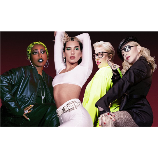 Dua Lipa teams up with Madonna, Missy Elliott and The Blessed Madonna for 'Levitating' remix