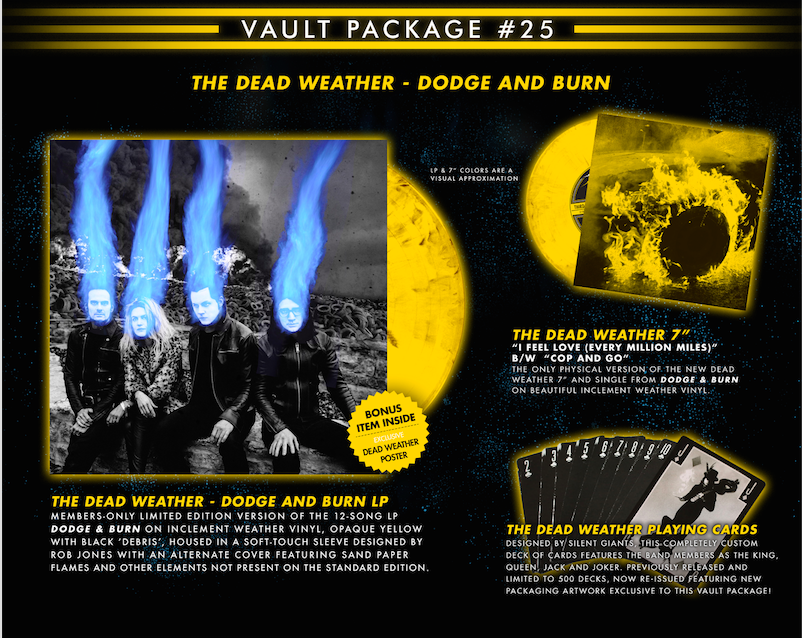 The Dead Weather announce new album, 'Dodge & Burn'