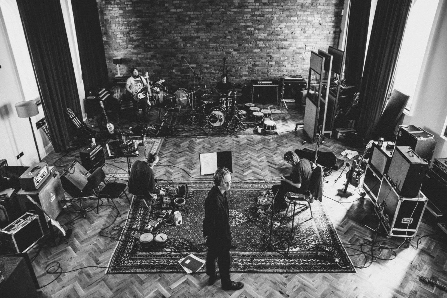 """Eagulls in the studio: """"At times the process became pretty gruelling"""""""
