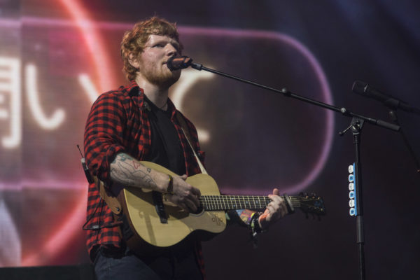 Ed Sheeran trades in superstar guests for simplicity at Glastonbury 2017