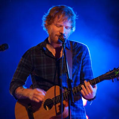 Ed Sheeran closes first night of Latitude 2015 with tiny secret set