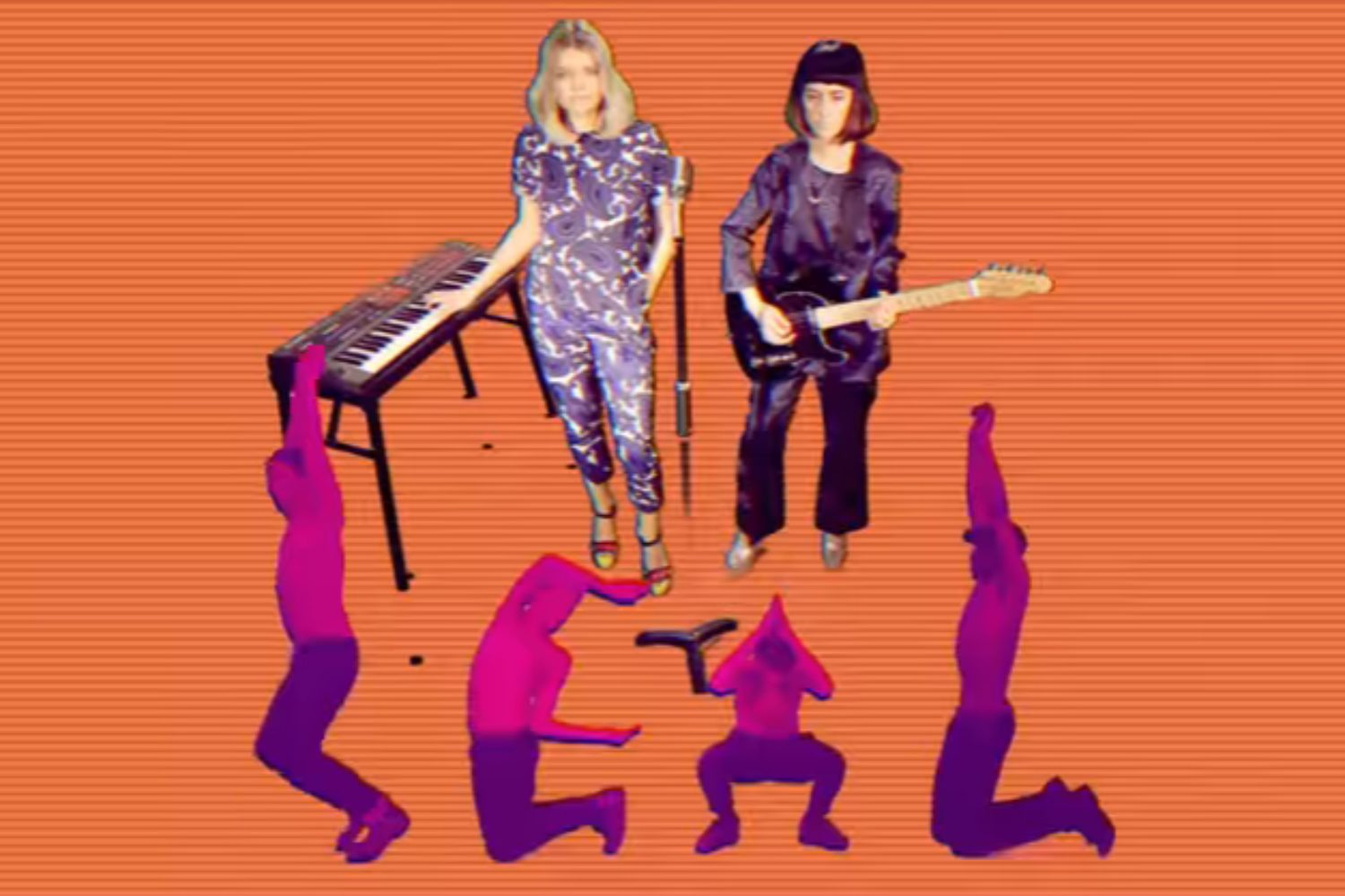 Ekkah share video for new single, 'Can't Give It Up'