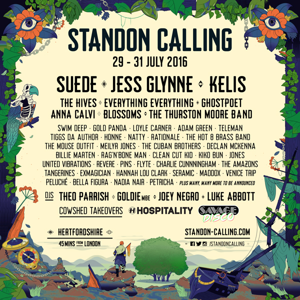 Everything Everything, Suede, Swim Deep to play Standon Calling 2016