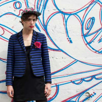 Ezra Furman is playing a Halloween gig with Charlotte bloody Church's Pop Dungeon!