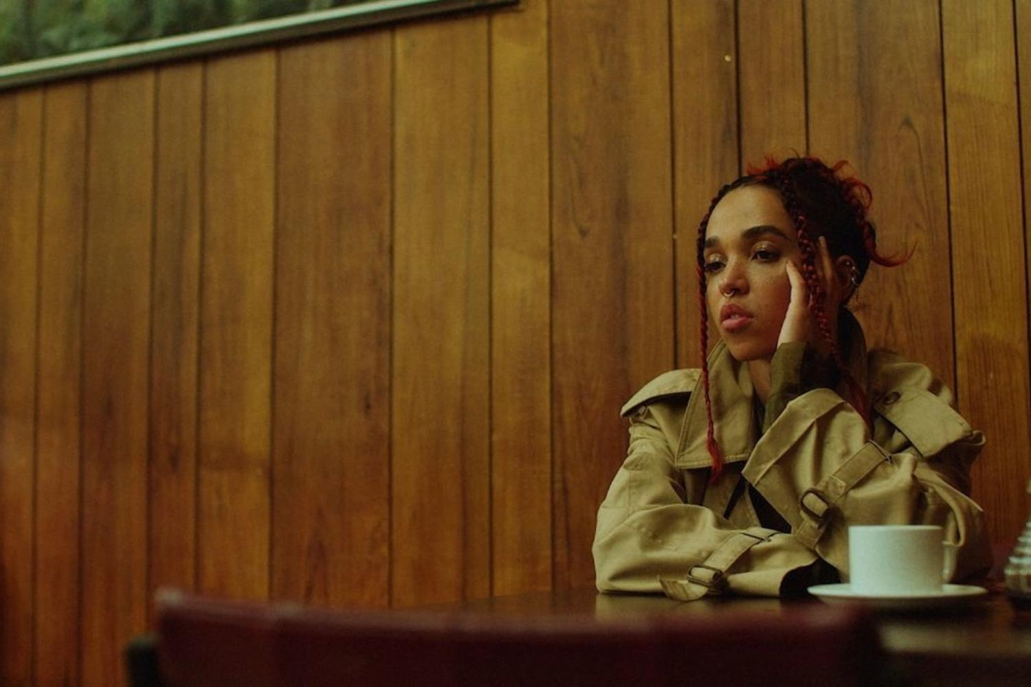 FKA Twigs unveils 'sad day' video