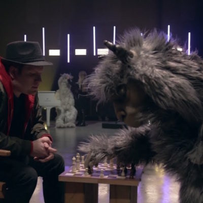 Fall Out Boy are replaced by llamas in their new 'Bishops Knife Trick' video
