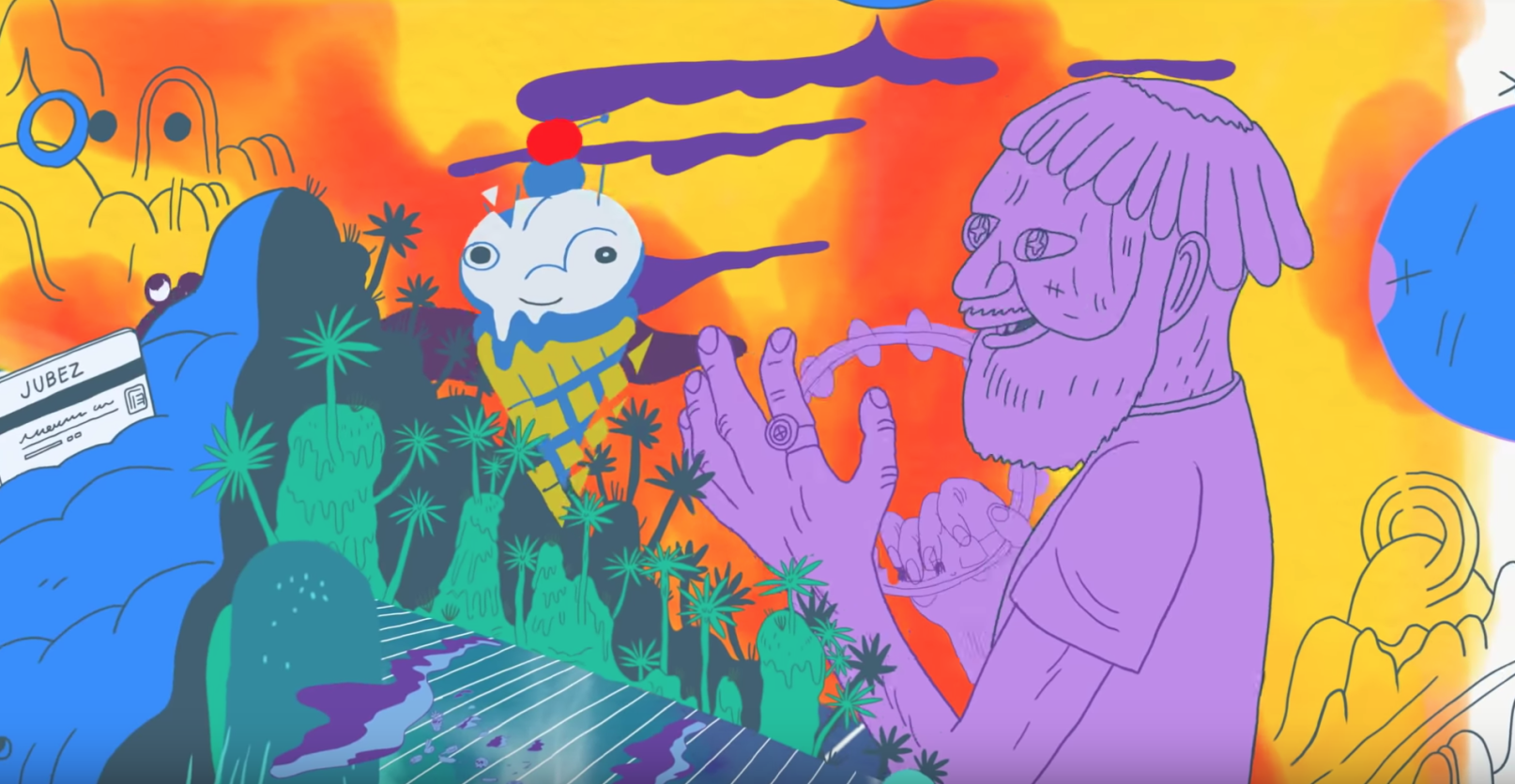 Watch Father John Misty's animated new video for 'Date Night'