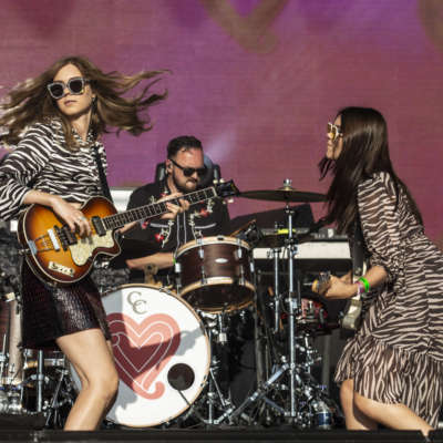First Aid Kit cover Kate Bush and shine in the sun at Bestival 2018