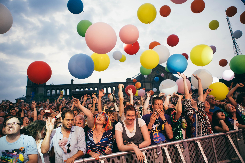 The Flaming Lips bring a joyful, celebratory set to Kaleidoscope Festival