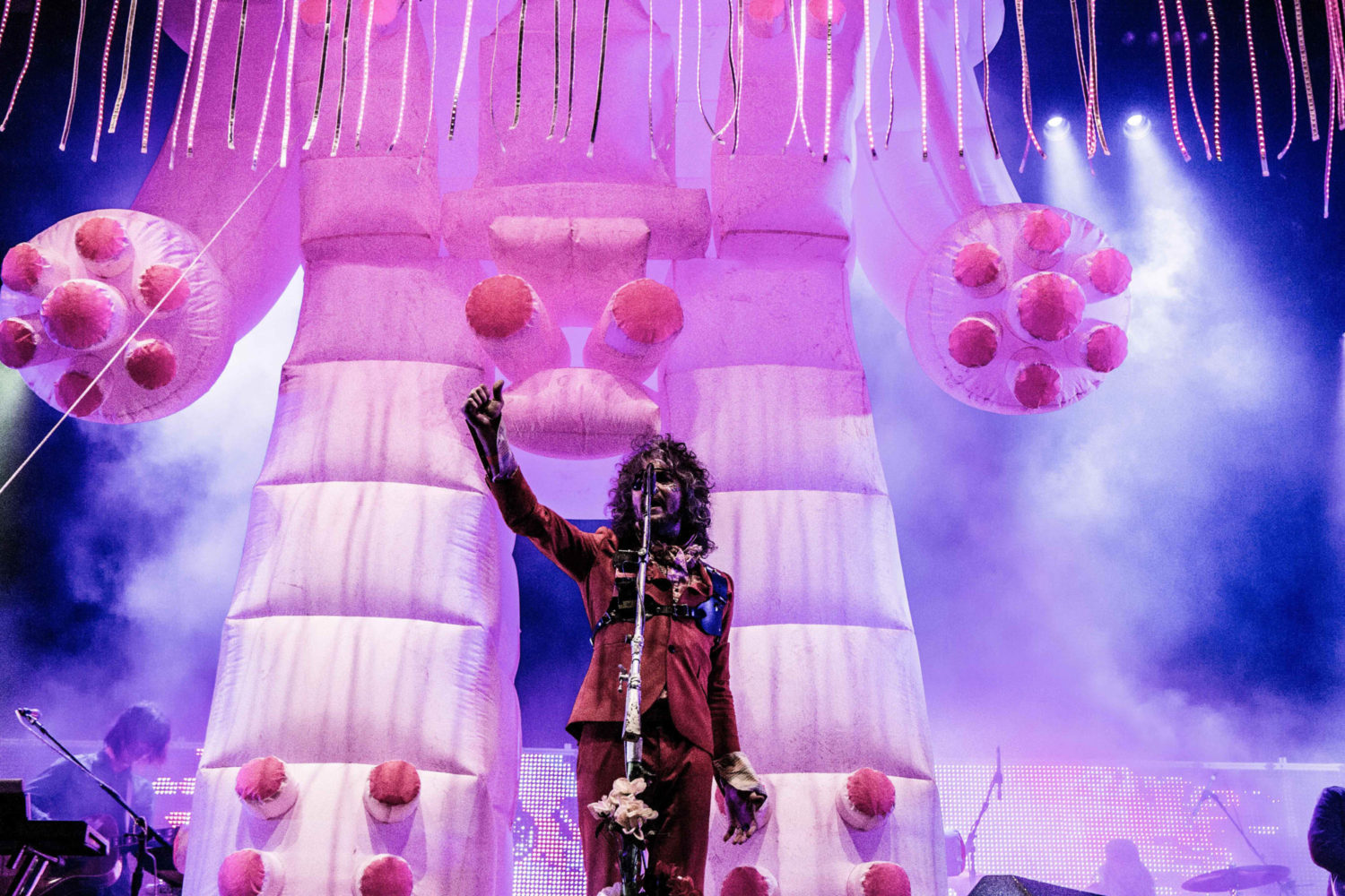 The Flaming Lips, Future Islands and The Chemical Brothers are headlining Bluedot 2018