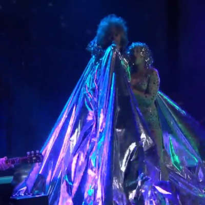 Watch The Flaming Lips and Miley Cyrus play 'A Day In The Life' on Conan