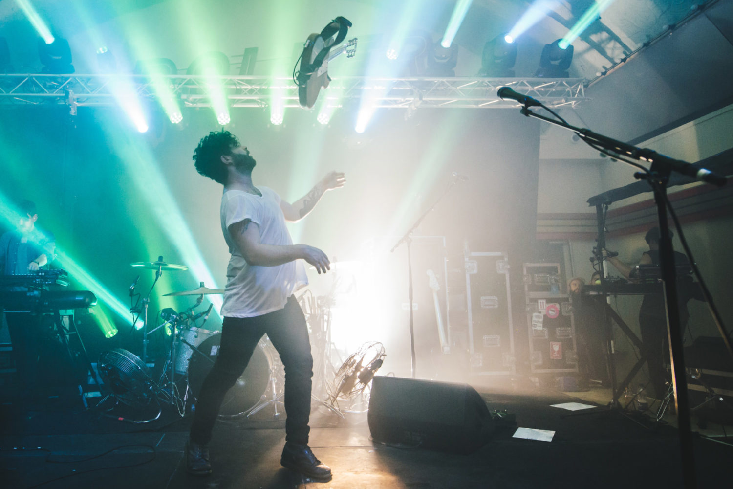 """Foals talk their incendiary live show: """"I just want to get on stage and go fucking mental"""""""
