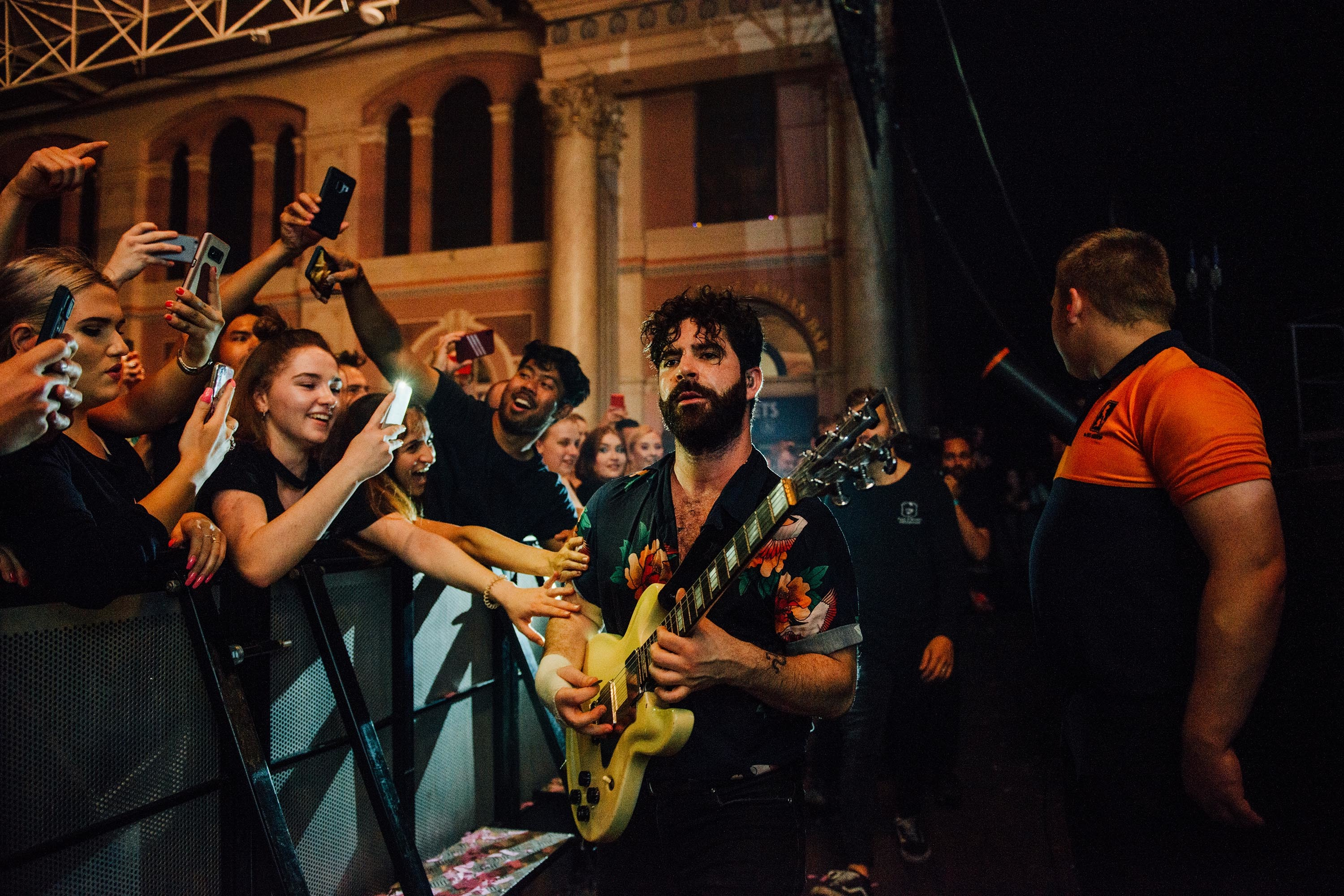 Foals, Alexandra Palace, London