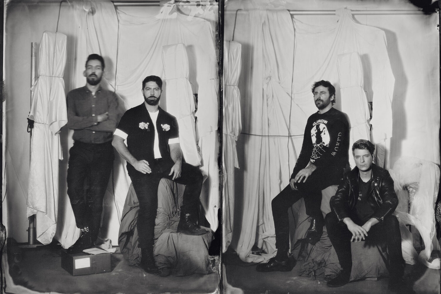 Foals are on the cover of the new issue of DIY!