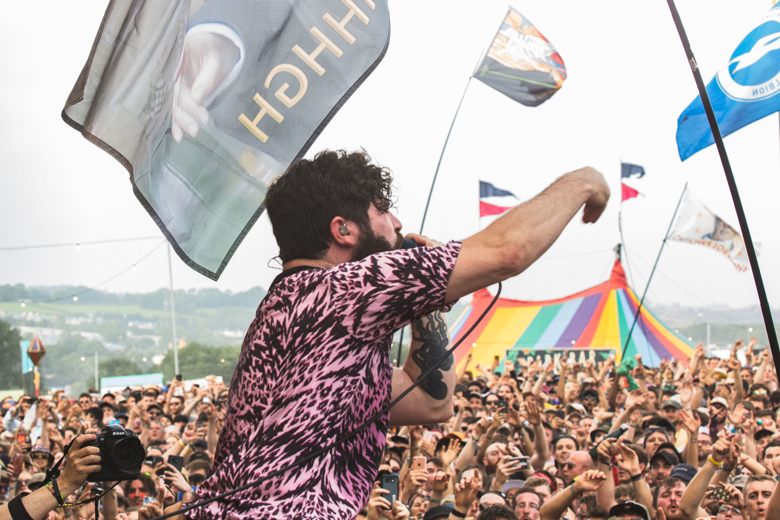 Foals stake a claim as future headliners at heaving surprise Glastonbury set
