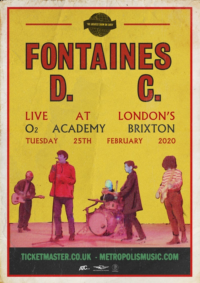 Fontaines DC announce headline show at London's O2 Academy Brixton