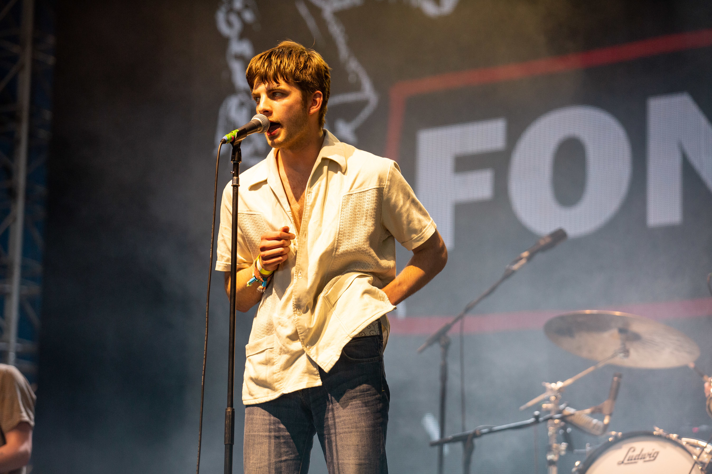 Fontaines DC grab a last-minute opportunity and set the John Peel Stage alight at Glastonbury 2019
