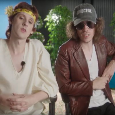 Foxygen go behind the scenes in the video for 'Avalon'
