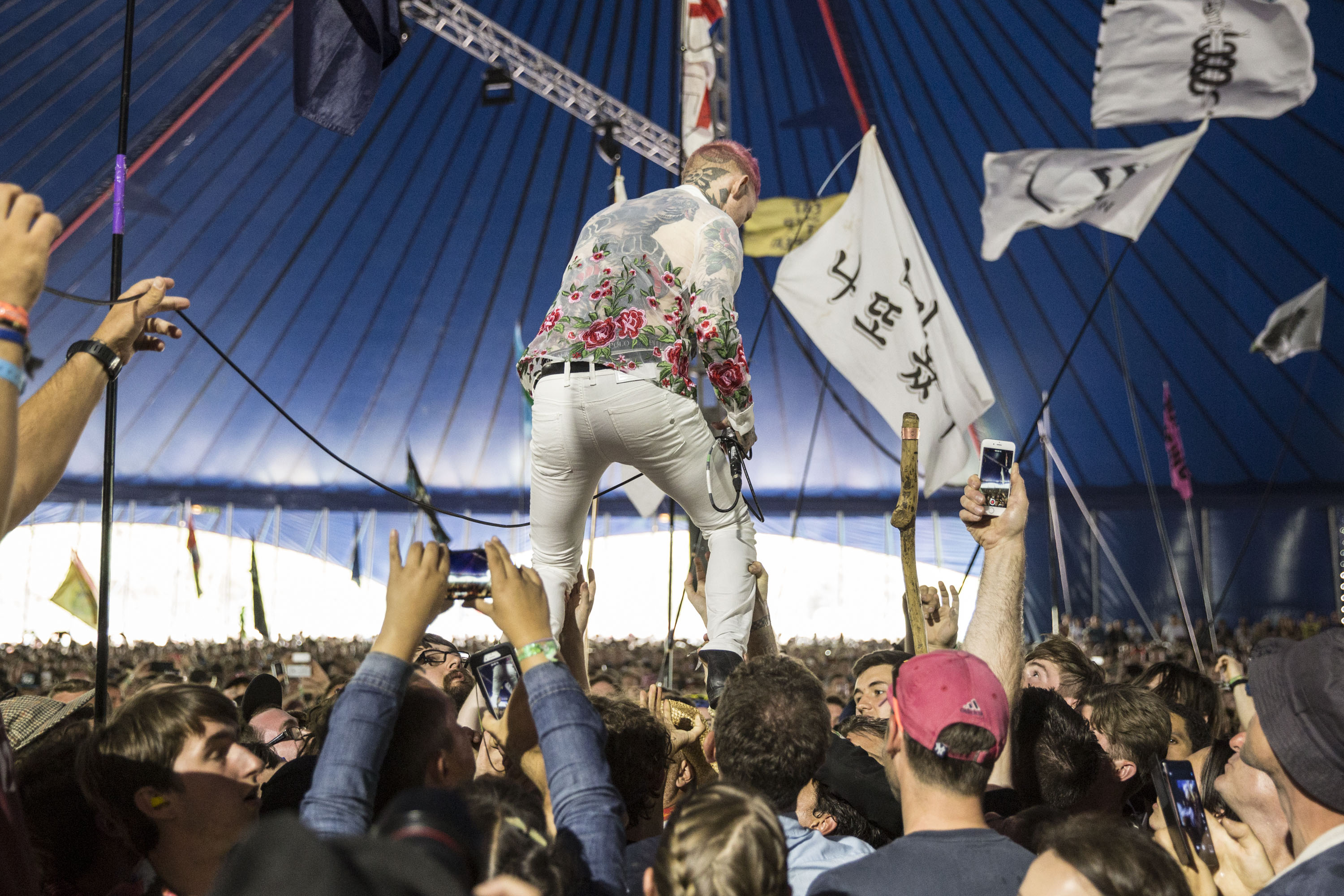 Frank Carter & The Rattlesnakes take Glastonbury 2017 out of its comfort zone