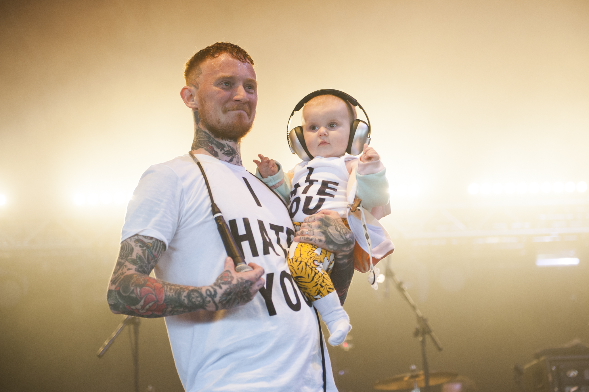 Frank Carter & The Rattlesnakes make it a family affair at Reading 2015