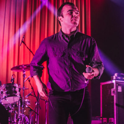 Watch Future Islands give live debut to 'The Chase'