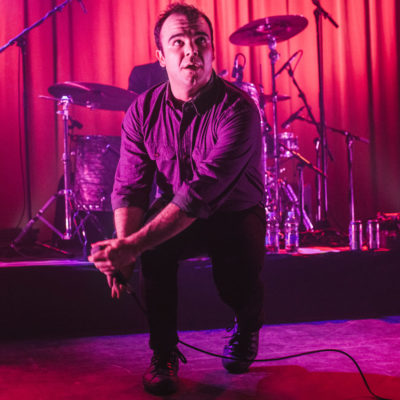 Watch Future Islands debut new song 'Haunted' live in Sheffield