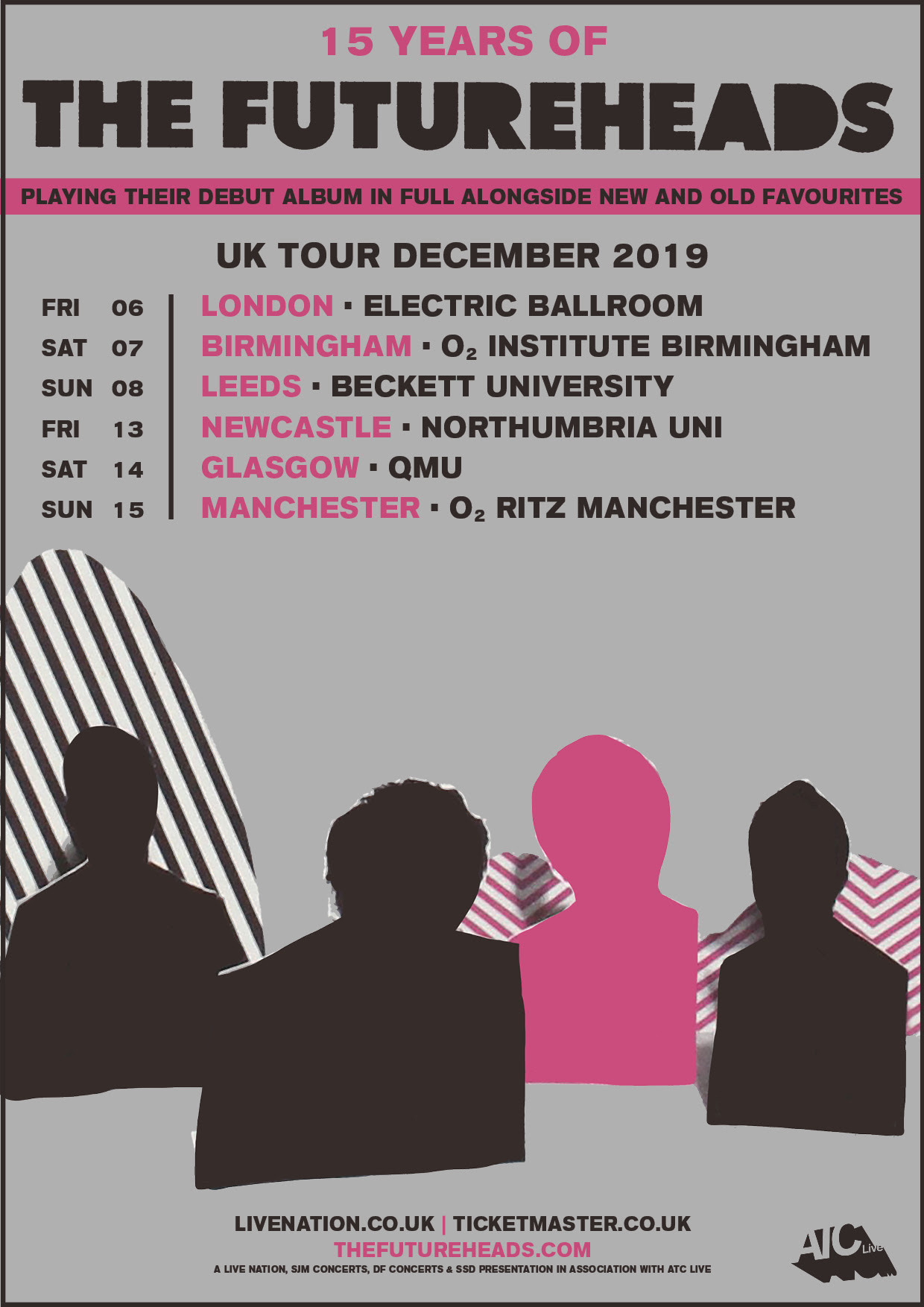 The Futureheads to play debut in full on December tour