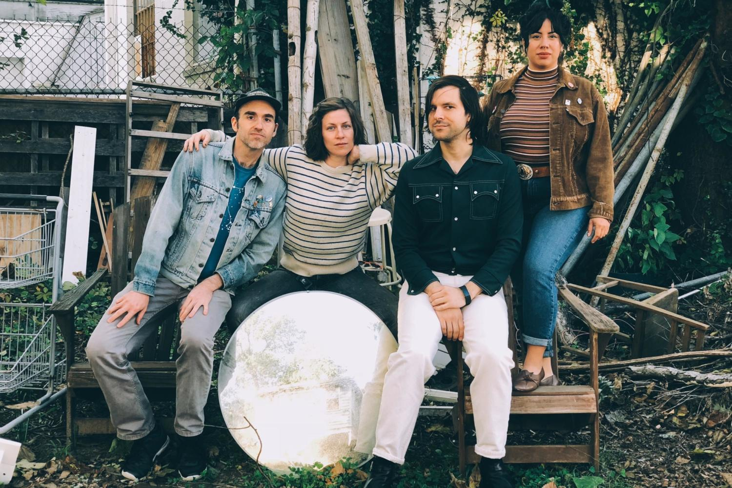 Gauche sign with Merge, share 'Conspiracy Theories'