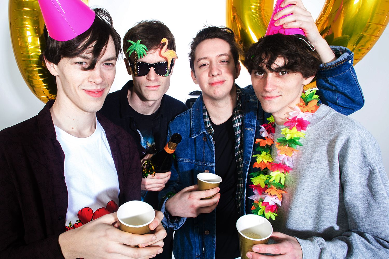 """Gengahr: """"The hardest part of starting a band is finding people you work well with"""""""