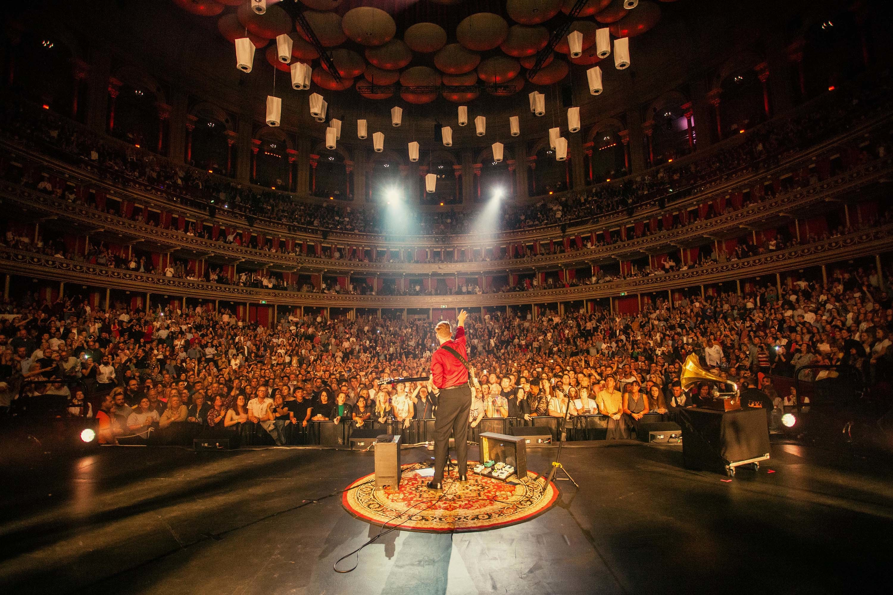 George Ezra sees off 'Staying At Tamara's' with two sold-out shows at London's Royal Albert Hall